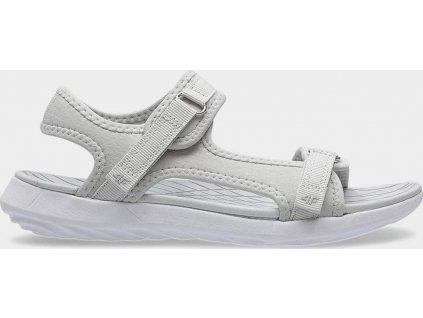 Dámské sandály 4F SAD201 Šedé