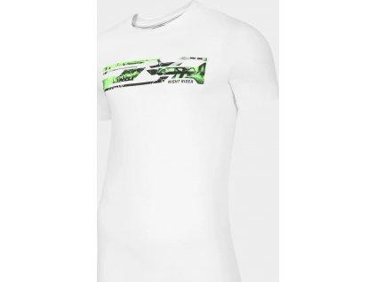 Pánské tričko 4F TSM011 Bílé
