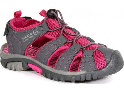 Dětské sandály REGATTA RKF600 Westshore Jnr Růžové