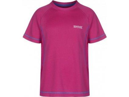 Dětské tričko Regatta Diverge Jem/Jem růžové