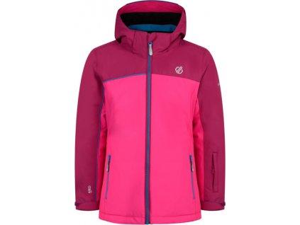 Dětská lyžařská bunda Dare2B DKP373 Legit Jacket Růžová