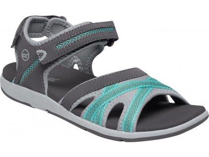 Dámské sandály Lady Santa Clara 3RM šedé/mátové