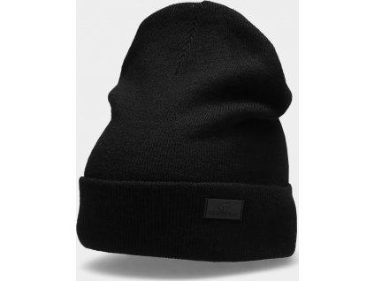 Dámská zimní čepice 4F CAD210 Černá