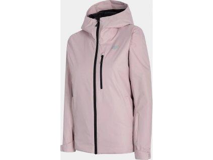 Dámská lyžařská bunda 4F KUDN301 Světle růžová