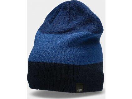 Pánská zimní čepice 4F CAM157 Tmavě modrá