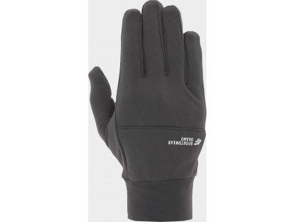 Unisexové rukavice touch screen 4F REU207 černé