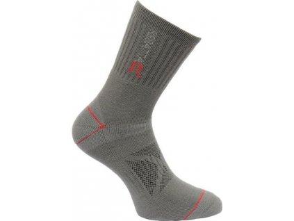 Pánské ponožky Regatta BlisterP Granite/Sena šedé
