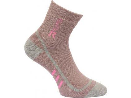 Dámské trekingové ponožky Regatta RWH032 TrekTrail Fialové