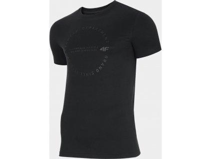 Pánské polo tričko 4F TSM308 tmavě modré