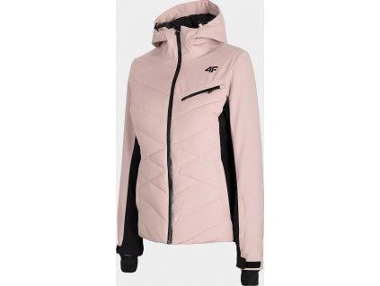 Dámská lyžařská bunda 4F KUDN256 Růžová