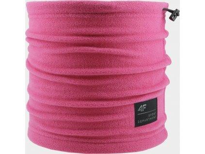 Unisex nákrčník 4F BANU203 Růžový
