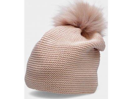 Dámská zimní čepice CAD200 Růžová