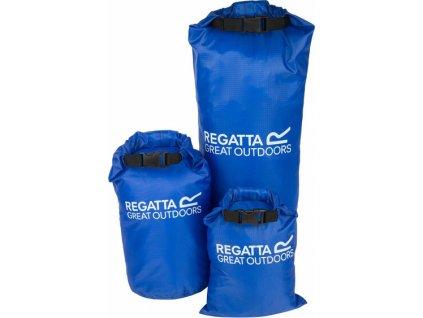 Sada vodních vaků Regatta RCE183 Dry Bag Set Modrá