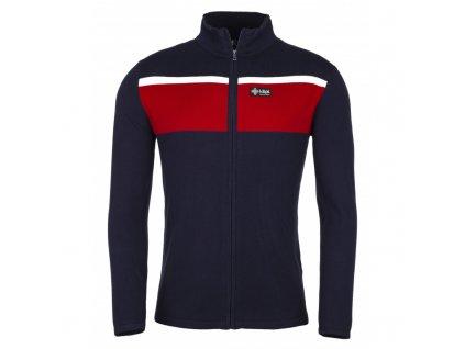 Pánský svetr Cardig-m červený - Kilpi
