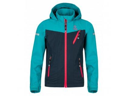 Dívčí funkční outdoorová bunda Ortler-jg tmavě modrá - Kilpi