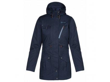Dámský zimní kabát Brasil-w tmavě modrá - Kilpi (NADMĚRNÁ VELIKOST)