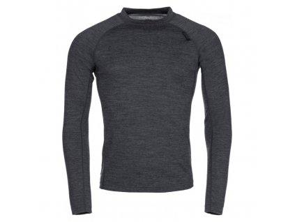 Pánské termo tričko Patton-m tmavě šedá - Kilpi
