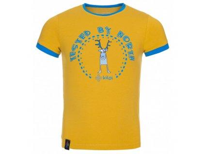 Dětské tričko Mercy-jb žlutá - Kilpi