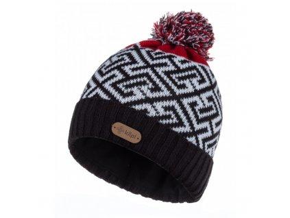 Pánská pletená čepice Labyrinth-m černá - Kilpi UNI