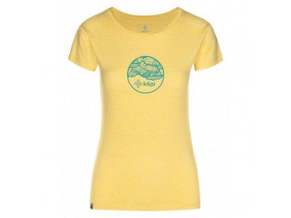 Dámské funkční tričko Guilin-w žlutá - Kilpi