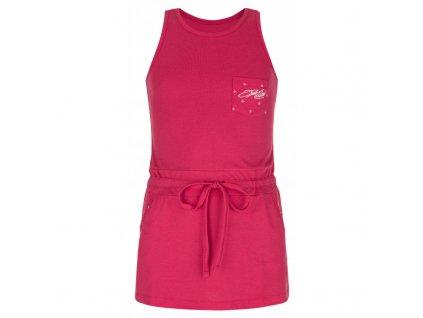 Dívčí letní šaty Fantasia-jg růžová - Kilpi