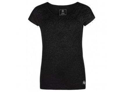 Dámské tričko s krátkým rukávem Christie-w černá - Kilpi
