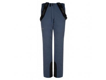 Dámské lyžařské kalhoty Elare-w modrá - Kilpi (NADMĚRNÁ VELIKOST)