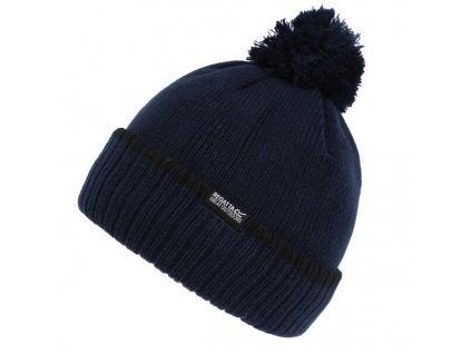 Pánská zimní čepice Regatta RMC091 Davion Hat III 58F Tmavě modrá