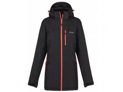 Dámská lyžařská bunda Flip-w černá (NADMĚRNÁ VELIKOST)