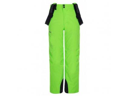 Chlapecké lyžařské kalhoty Methone-jb zelená - Kilpi