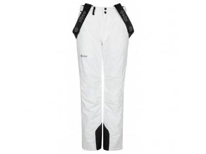 Dámské lyžařské kalhoty Elare-w bílá (NADMĚRNÁ VELIKOST)