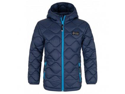 Chlapecká zimní bunda Rebeki-jb tmavě modrá 122