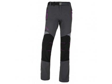 Dámské kalhoty Highlander-w tmavě šedá - Kilpi