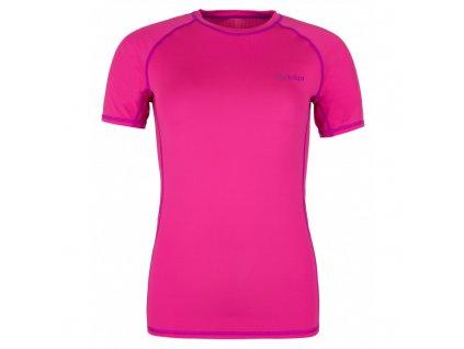Dámské tričko Border-w růžová - Kilpi