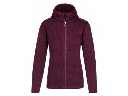 Dámský svetr Irina-w tmavě fialová - Kilpi