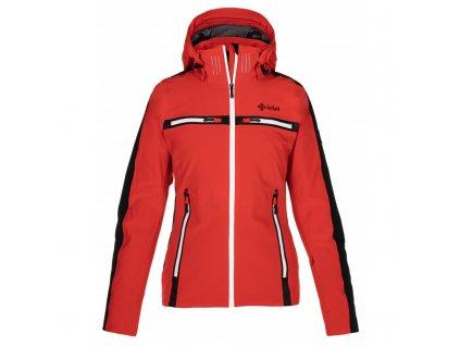 Dámská lyžařská bunda Hattori-w červená (NADMĚRNÁ VELIKOST)