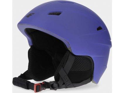 Pánská lyžařská helma 4F KSM350 Modrá