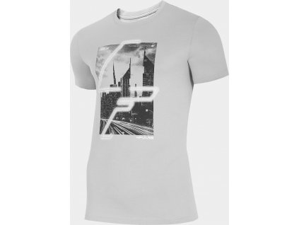 Pánské tričko 4F TSM239 Šedé