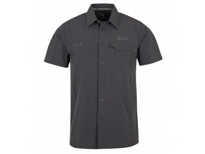 Pánská košile Bombay-m tmavě šedá - Kilpi