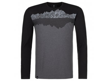 Pánské tričko Drumon-m tmavě šedá - Kilpi