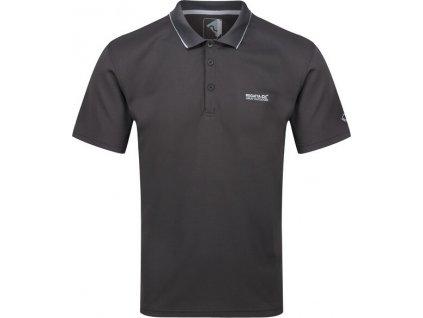 Pánské polo tričko Regatta RMT221 V 92E Šedé