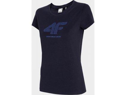 Dámské tričko 4F TSD011 tmavě modré