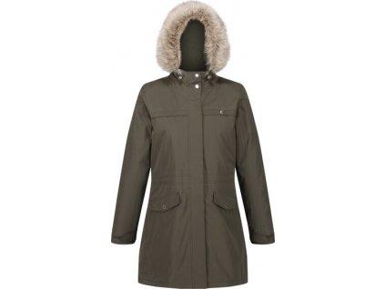 Dámský kabát Regatta RWP302 Serleena II 41C khaki