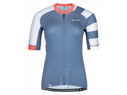Dámský cyklistický dres Wild-w modrá - Kilpi