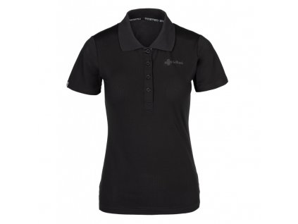 Dámské polo tričko Collar-w černá - Kilpi