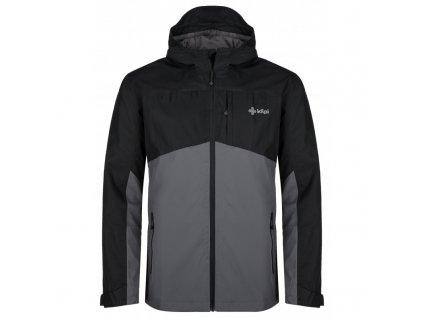 Pánská outdoorová bunda Orleti-m tmavě šedá - Kilpi