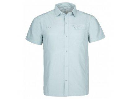Pánská sportovní košile Bombay-m světle modrá - Kilpi (NADMĚRNÁ VELIKOST)