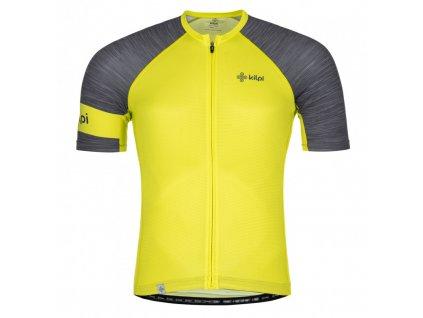 Pánský cyklistický dres Selva-m světle zelená - Kilpi ( NADMĚRNÁ VELIKOST)