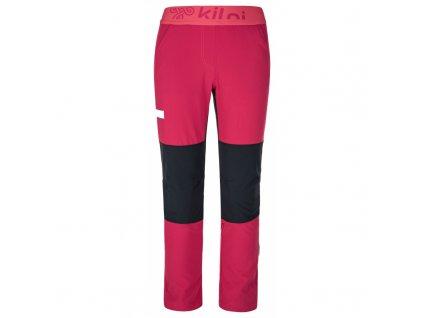 Dívčí kalhoty Karido-jg růžová - Kilpi