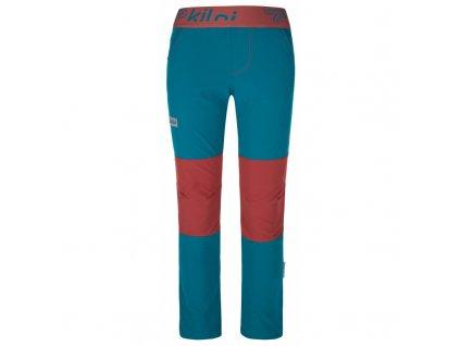 Chlapecké kalhoty Karido-jb tyrkysová - Kilpi